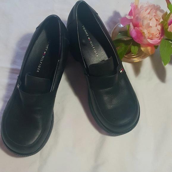 Vintage Tommy Hilfiger Platform Loafers